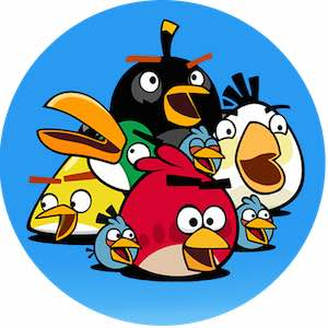 equipe de personnage  dans angry birds