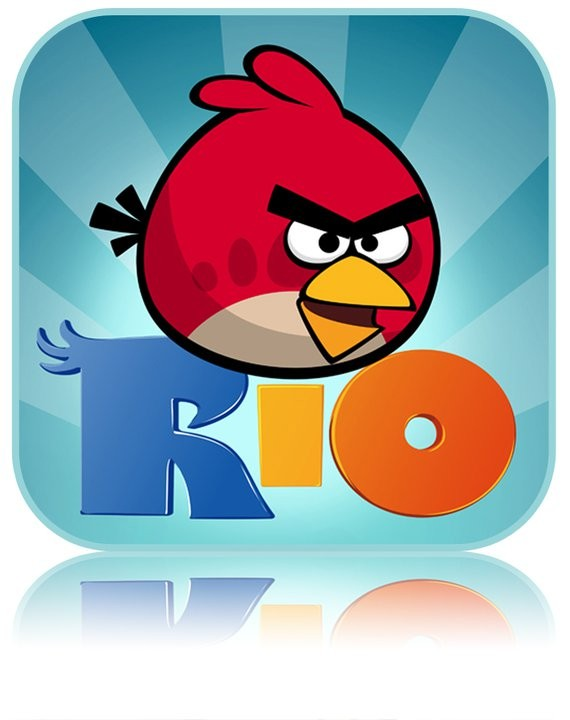 Application Angry Birds Rio