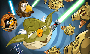 Personnages d'angry birds dans star wars 2